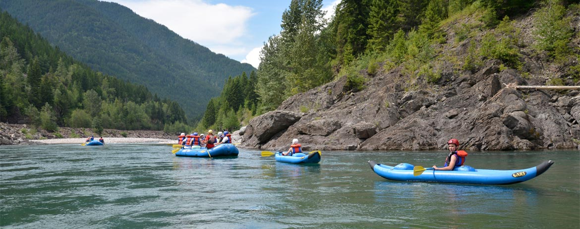 Raft Trips with Wild River Adventure , Glacier National Park