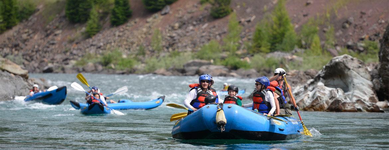 rafting-in-glacier-national-park