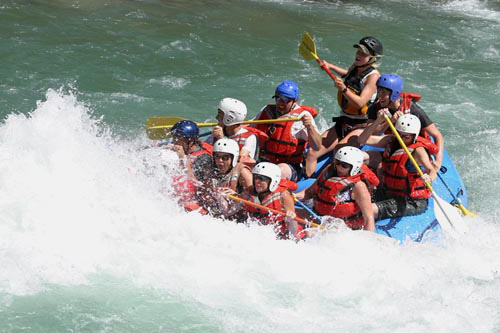 River Rafting in Glacier National Park